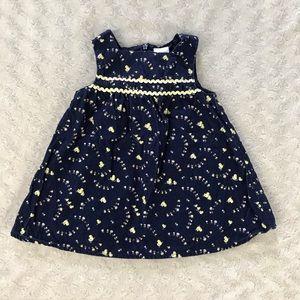 Gymboree Duck Dress Size 3-6 Months Blue Yellow